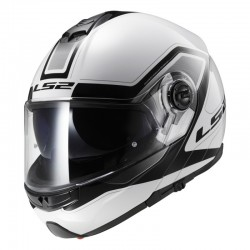 Casco STROBE Civik White Black