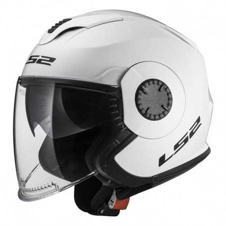 Casco TRACK Solid White