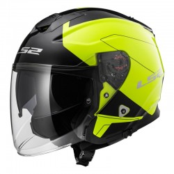 Casco INFINITY Beyond Black Yellow