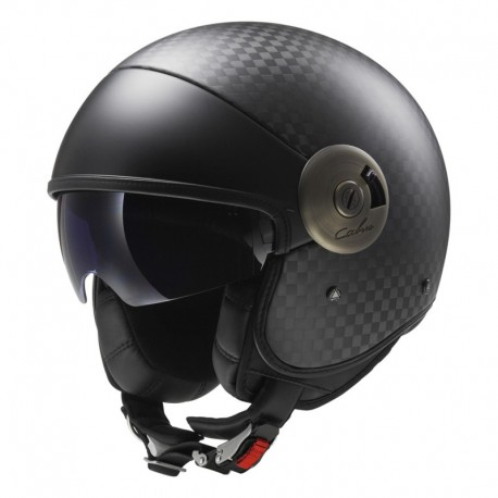 Casco Cabrio Solid Carbon