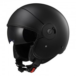 Casco CABRIO Full Matt Black