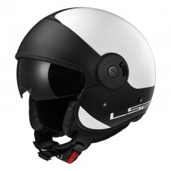 Casco CABRIO Via Matt White Black