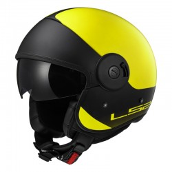 Casco CABRIO Via Matt Yellow Black