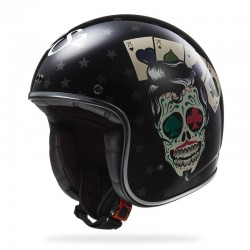Casco BOBBER Tattoo Black