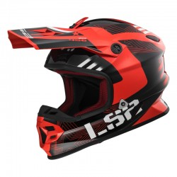 Casco LIGHT EVO Rallie Red Black