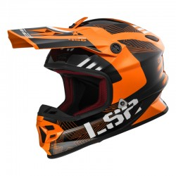 Casco LIGHT EVO Rallie Orange Black