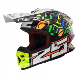 Casco LIGHT EVO Punch White Black
