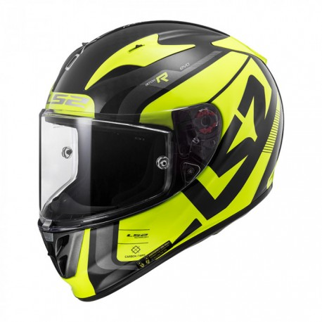 Casco FF323 ARROW C EVO Fury Carbon yellow
