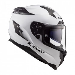 LS2 Casco FF327 CHALLENGER SOLID wht