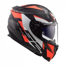 LS2 Casco FF327 CHALLENGER Squadron Matt Fluo Orange