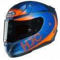 Casco HJC RPHA 11 Bine Naranja Matt Azul