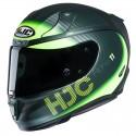 Casco HJC RPHA 11 Bine Negro Matt Verde