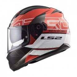 LS2 Helmets FF320 STREAM EVO KUB Black Red