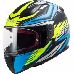 LS2 FF353 RAPID Gale Matt Black Blue