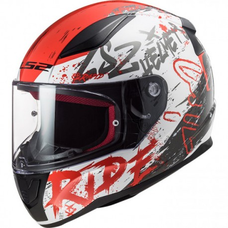 LS2 FF353 RAPID Naughty  White Red
