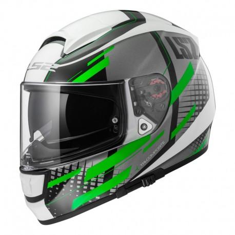 Casco VECTOR White Titanium Green