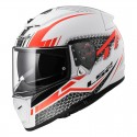 Casco BREAKER Split White Red