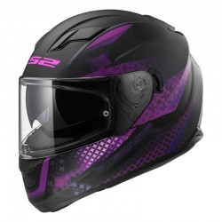 Casco STREAM Lux Matt Black Pink