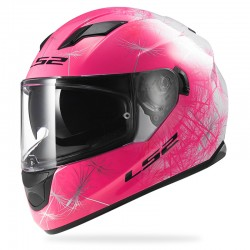 Casco STREAM Wind White Fluo Pink
