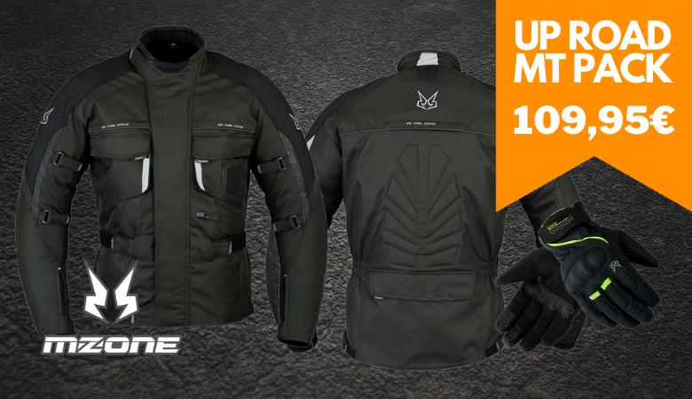 Milan Jacket motard,Guantes Torino MZ